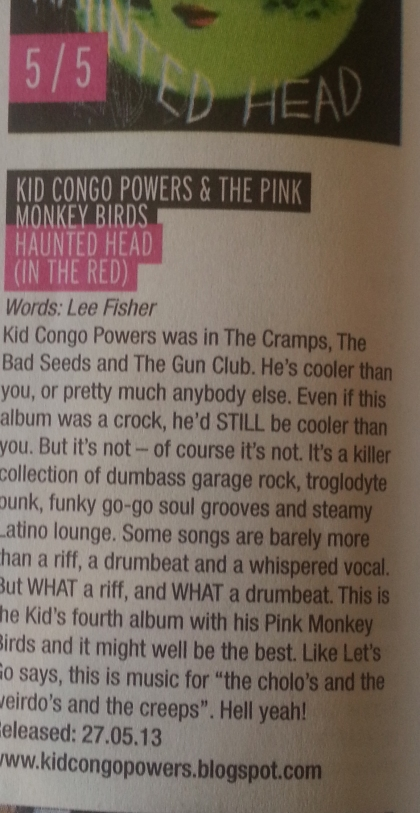 Kid Congo Powers (May 13)