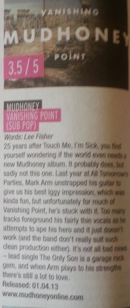 Mudhoney (april 2013)