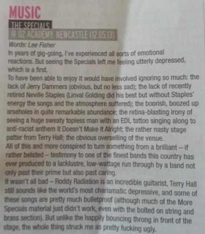 The Specials (June 2013)