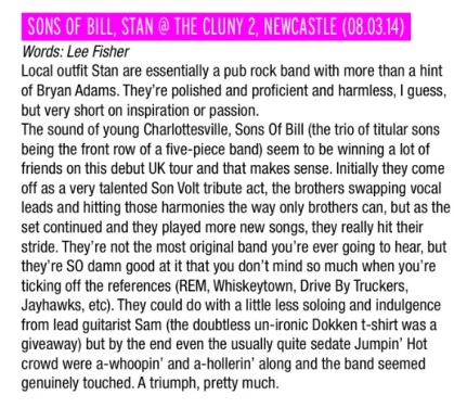 Sons Of Bill April