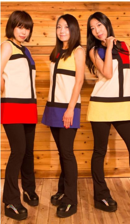 Shonen Knife APril 2016 pic