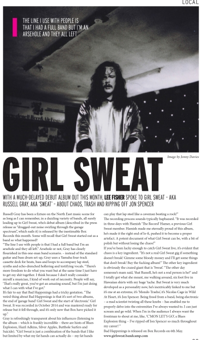 Girl Sweat